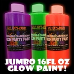 16 FL. OZ Neon Glowing Party Paint