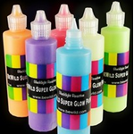 Super Glow in the Dark Paint Set (3 Pack Assorted)