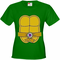 Turtle Costume with Letter Buckle Women's T-Shirt