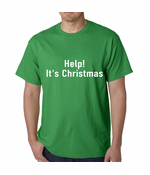 Help! It's Christmas Funny Holiday Men's T-shirt