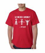 Holiday Workout Funny Men's T-Shirt