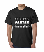 Worlds Greatest Farter Men's T-shirt