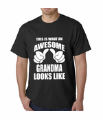 This Is What An Awesome Grandma Looks Like Men's T-shirt