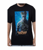 Guardians of The Galaxy - Groot Poster Men's T-Shirt