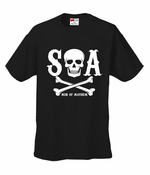 Men Of Mayhem Skull and Crossbones Men's T-Shirt