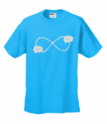 """Okay? Okay."" John Green Quote The Fault in Our Stars Infinity Symbol T-Shirt"