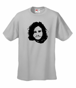 Jon Snow Face T-Shirt