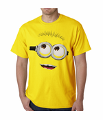 Despicable Me Minion Men's T-shirt (Yellow)
