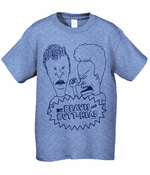 Beavis And Butthead Simple Men's T-Shirt