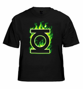 Green Lantern Movie Tees - The Green Lantern Blazin' Lantern T-Shirt