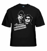 The Blues Brothers Vintage Dan Aykroyd & John Belushi T-Shirt