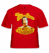 Rocky Balboa The Italian Stallion Vintage Movie T-Shirt