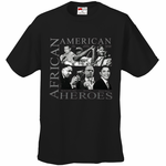 African American Hero Icons Men's T-Shirt