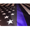 Thin Blue Line Police American Flag 4x6 Foot