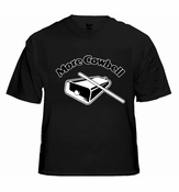 More Cowbell T-Shirt SNL More Cowbell