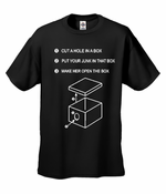 """Justin Timberlake SNL """"Hole in a Box"""" T-Shirt"""