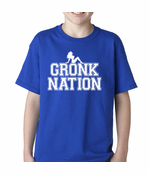 Gronk Nation Sexy Babe Kids T-shirt