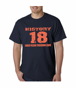 History 18 Manning Record Breaking Men's T-Shirt