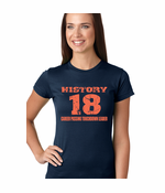History 18 Manning Record Breaking Women's T-Shirt