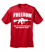 Freedom Guns Guts Glory Men's T-Shirt