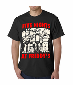 Official Five Nights At Freddy's Men's T-shirt