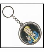 Official Fallout 4 Vault Boy Thumbs Up Nuka Cola Key Chain