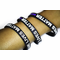 3 Pack of Thin Blue Line Blue Lives Matter Bracelets