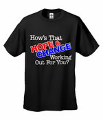 Hope and Change Men's T-Shirt