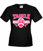Tackle Breast Cancer Women's T-Shirt