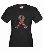Breast Cancer Words Women's T-Shirt