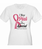I Wear Pink For Someone Special Women's T-Shirt