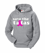 Save The Ta Tas Breast Cancer Hoodie