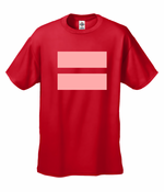 Men's Equality T-Shirt with Pink Equal Sign