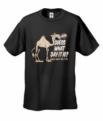 Guess What Day It Is? Camel Hump Day Men's T-Shirt