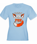 What Does The Fox Say? Ring-Ding-Ding-Ding Women's T-Shirt