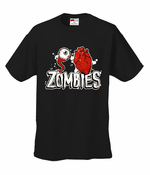 Eye Heart Zombies Mens T-Shirt
