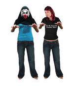 Zombie Girl Costume Shirt - Ask Me About My Zombie Shirt T-Shirt