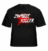 Zombie Killer Blood Splatter T-Shirt