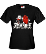 Eye Heart Zombies Women's T-Shirt