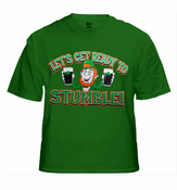 """Let's Get Ready To Stumble!"" T-Shirt"