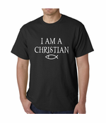 I Am A Christian Oregon College Shooting Men's T-shirt