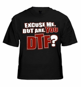 Jersey Shore - Are You DTF? T-Shirt