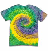 "The ""Mardi Gras"" Tie Dye T-Shirt"