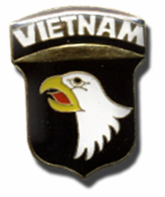 Vietnam Eagle Lapel Pin