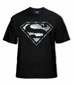 Superman Barbed Wire Logo T-Shirt