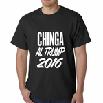 Chinga Al Trump Men's T-shirt