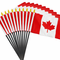 4x6 Inch Canadian Flag (12 Pack)