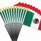 4x6 Inch Mexican Flag (12 Pack)