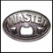 Wasted Bottle Opener Belt Buckle With FREE Leather Belt