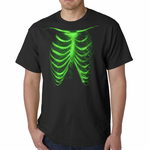 Glow In The Dark Ribcage T-shirt